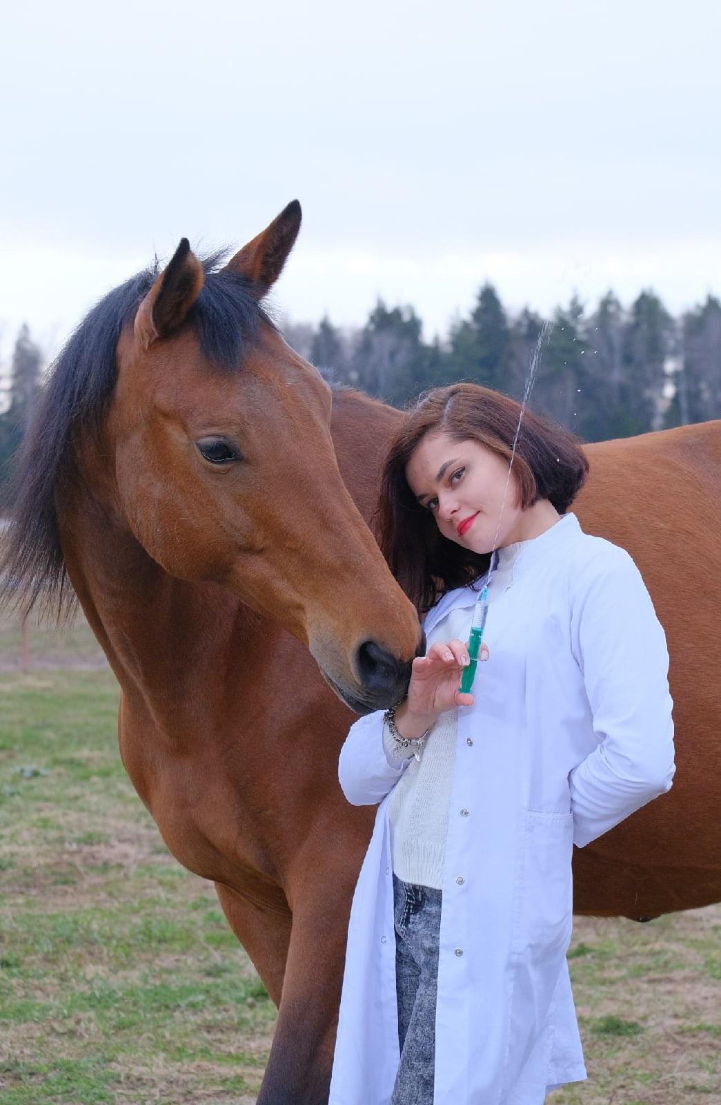 Анастасия Филатова, ветеринарный врач ГБУВ МО «Терветуправление № 3» Щелковская ветеринарная станция