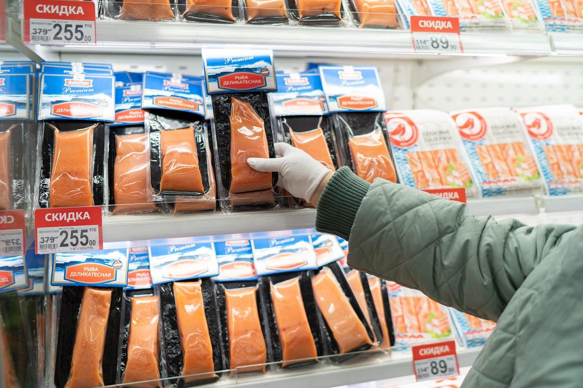 Цены на мороженую рыбу в рознице выросли на 5,68%