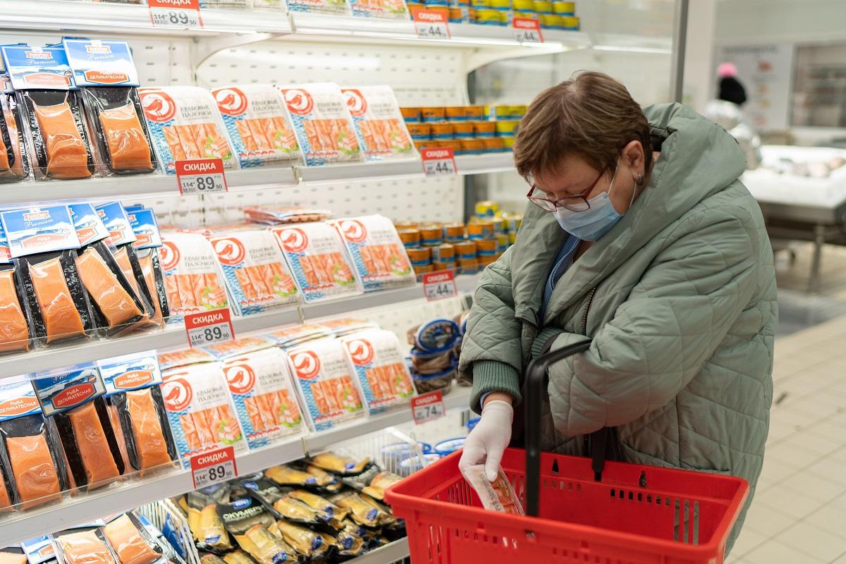 Розничные цены на мороженую рыбу в России снова растут